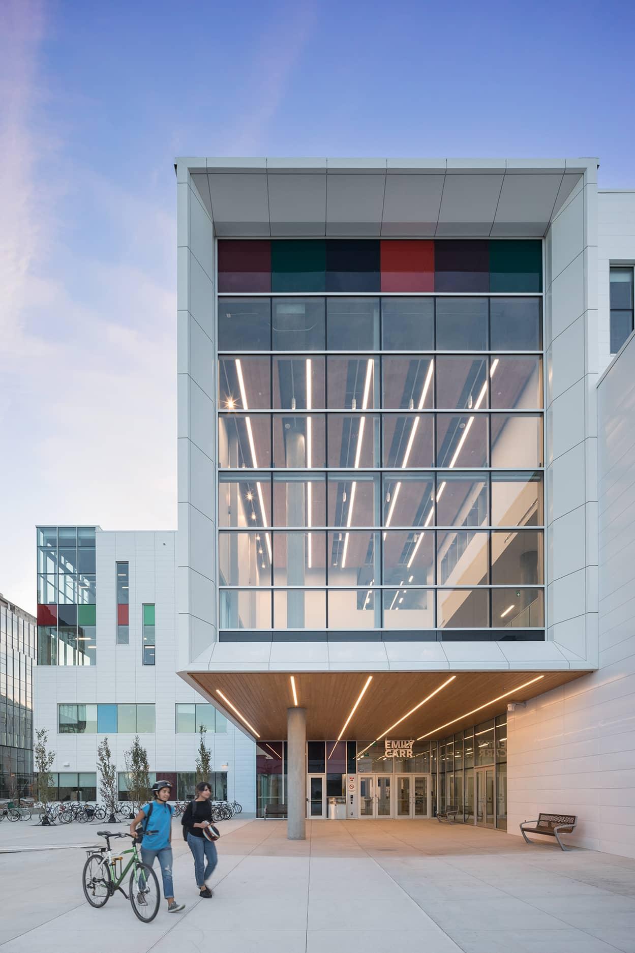 bbp emily carr university of art + design exterior straight