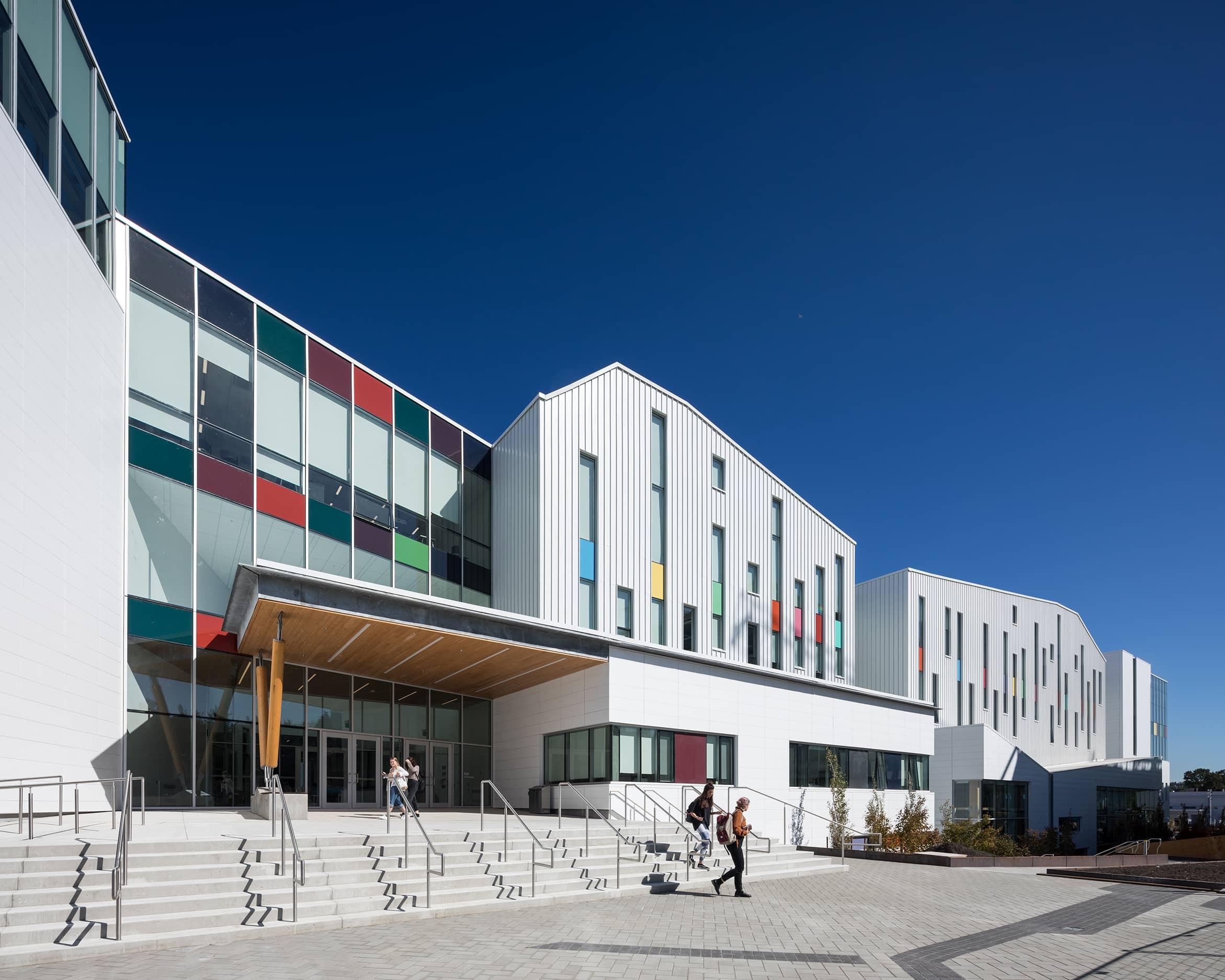 bbp emily carr university of art + design exterior day full