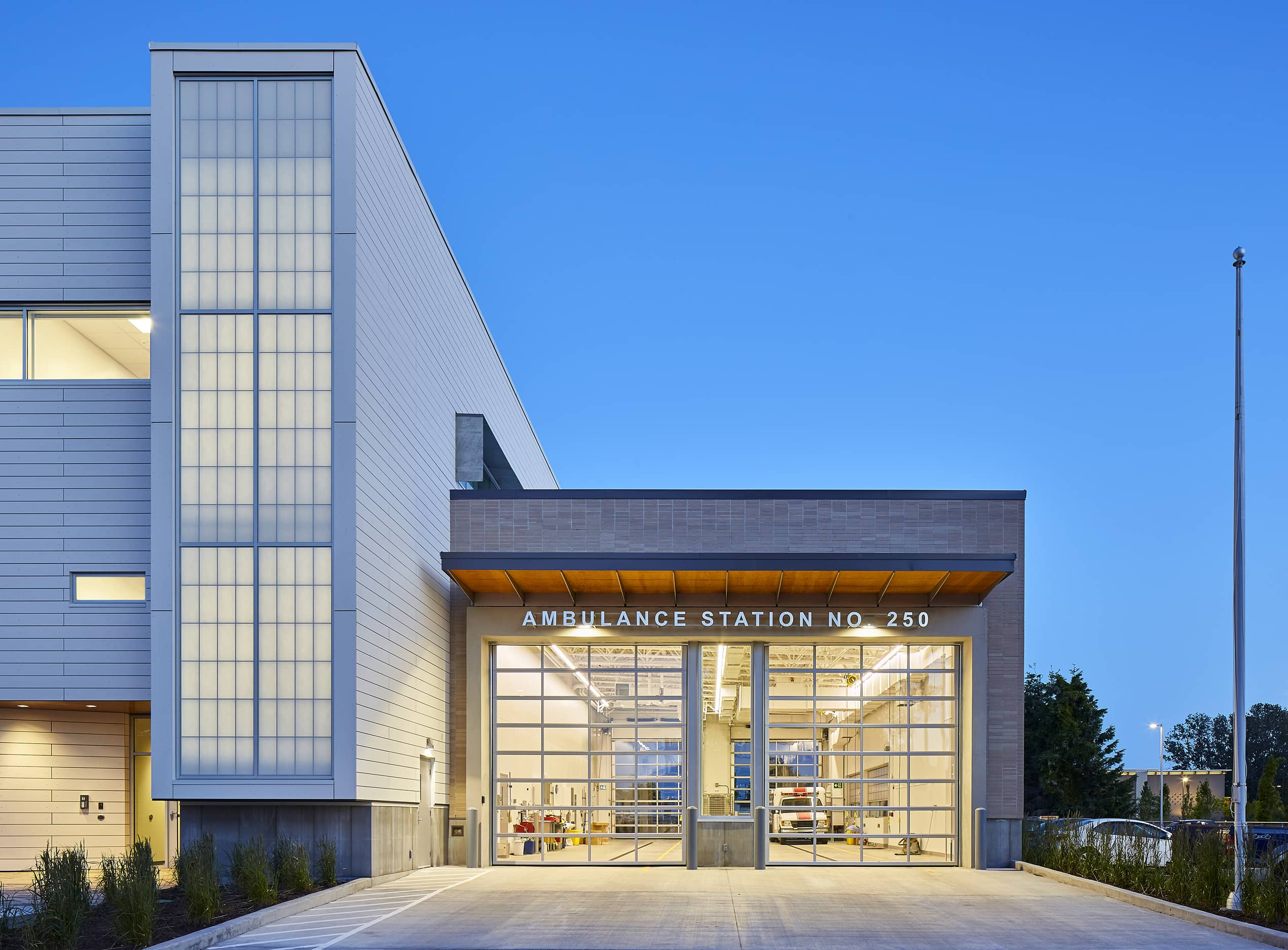 bbp cambie fire hall no. 3 & ambulance station exterior 2