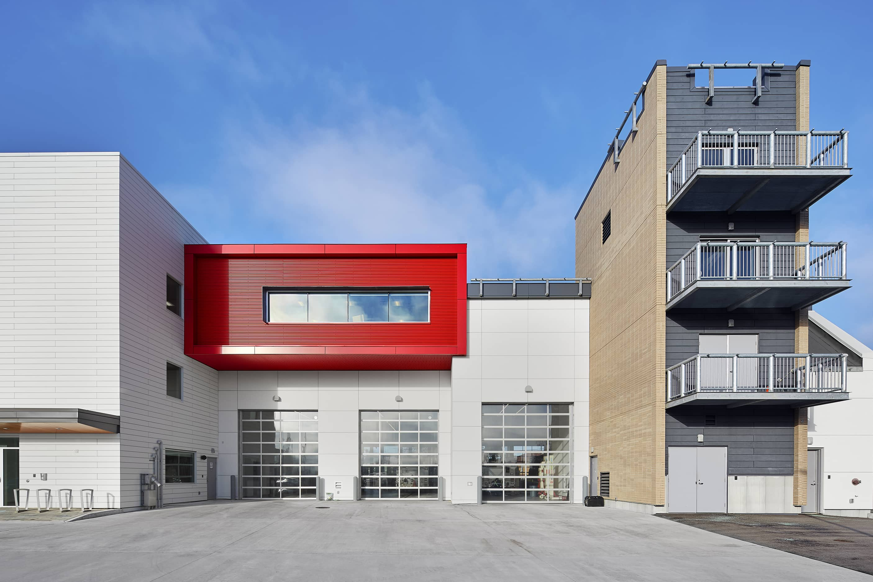 bbp cambie fire hall no. 3 & ambulance station exterior bays