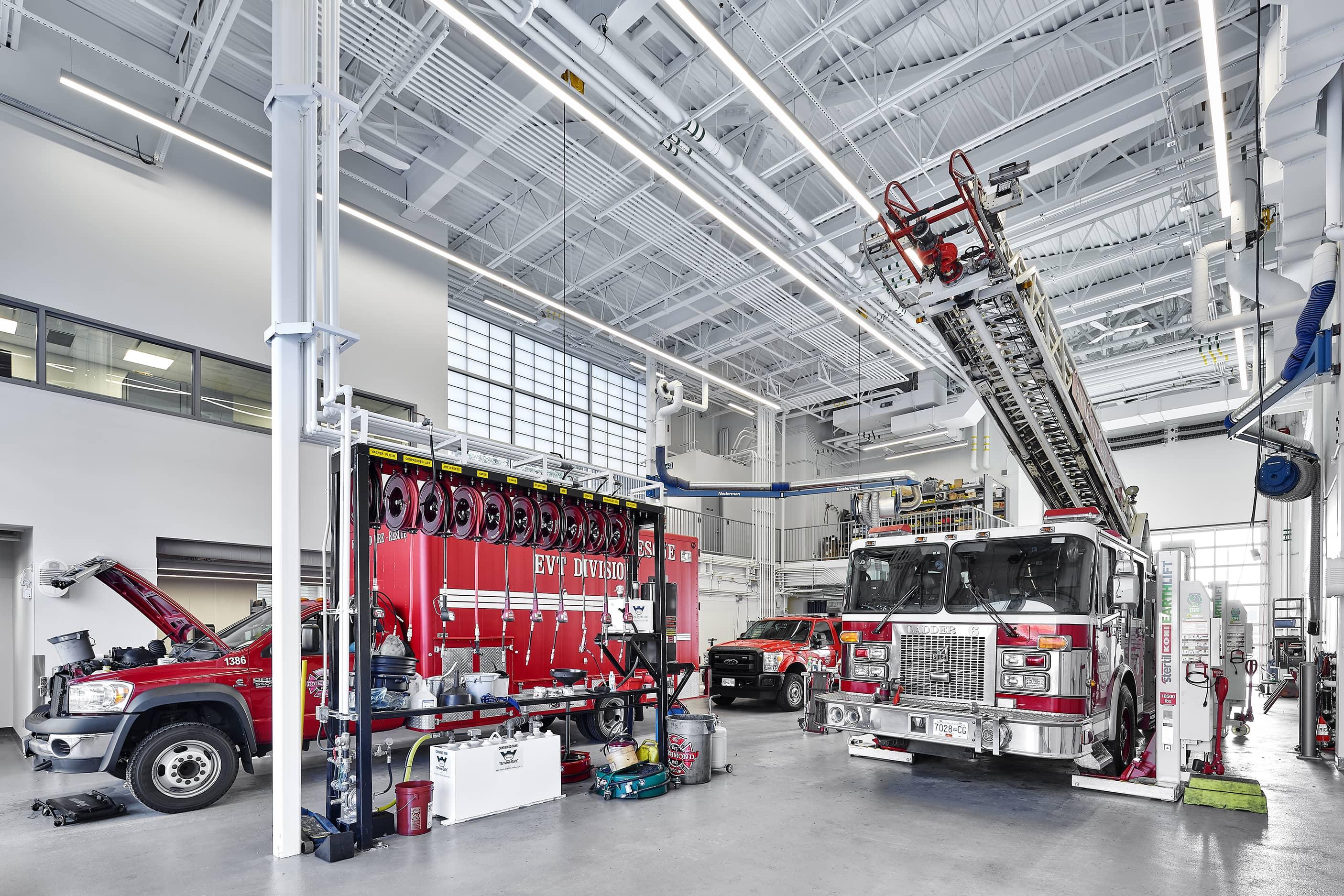 bbp cambie fire hall no. 3 & ambulance station garage 1