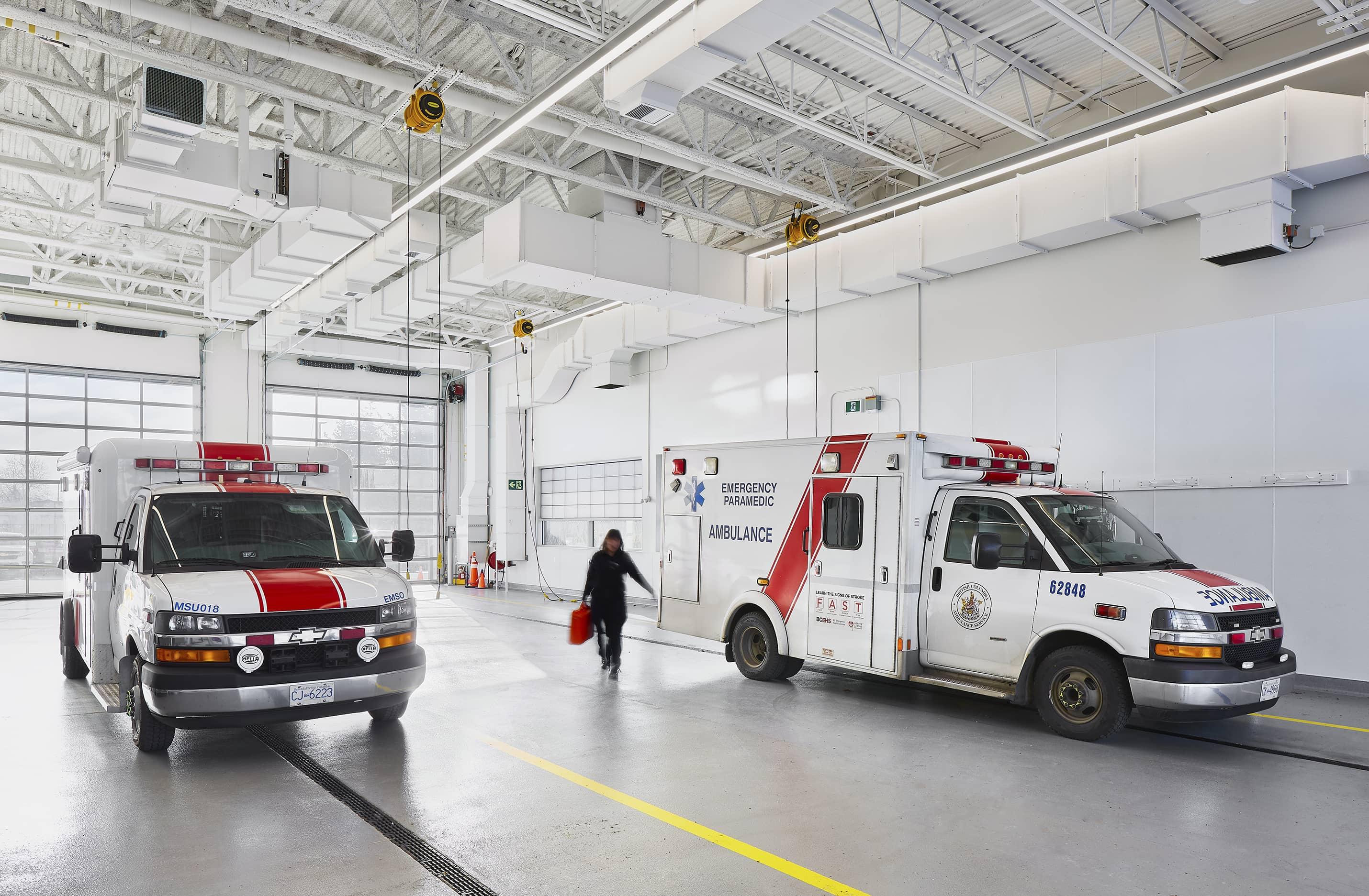 bbp cambie fire hall no. 3 & ambulance station garage 2