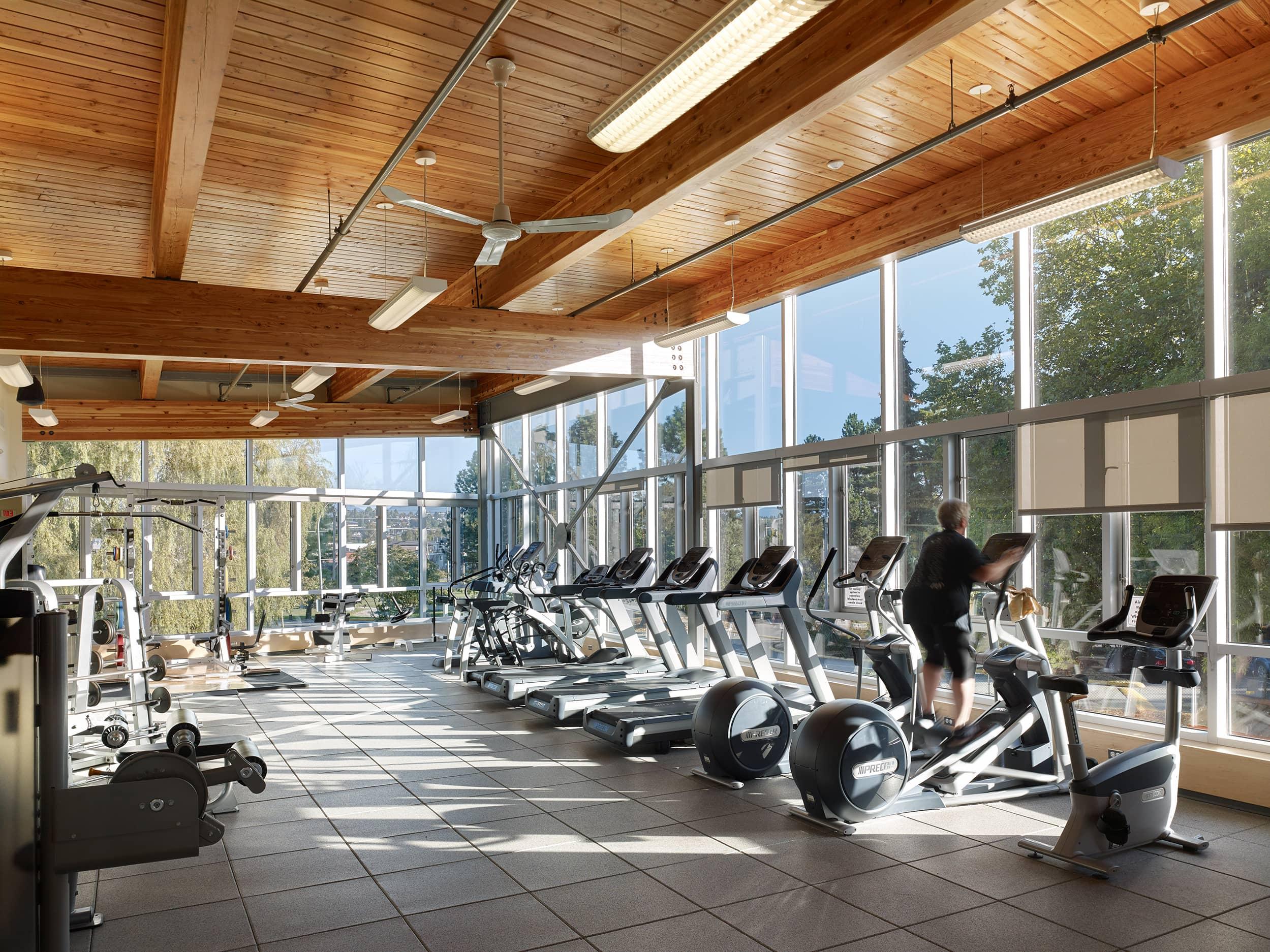 bbp queensborough community centre gym