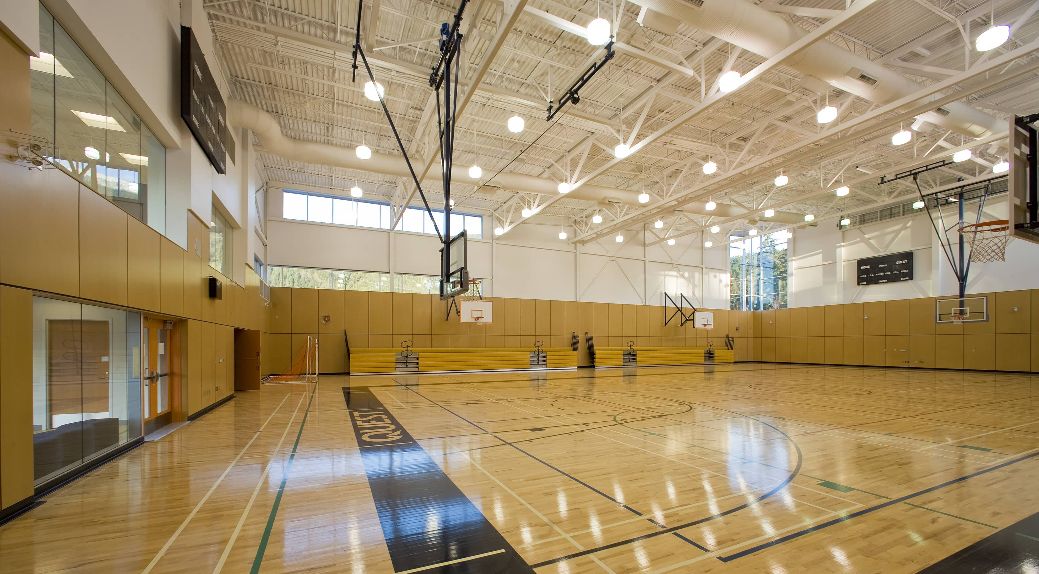 bbp quest university gymnasium