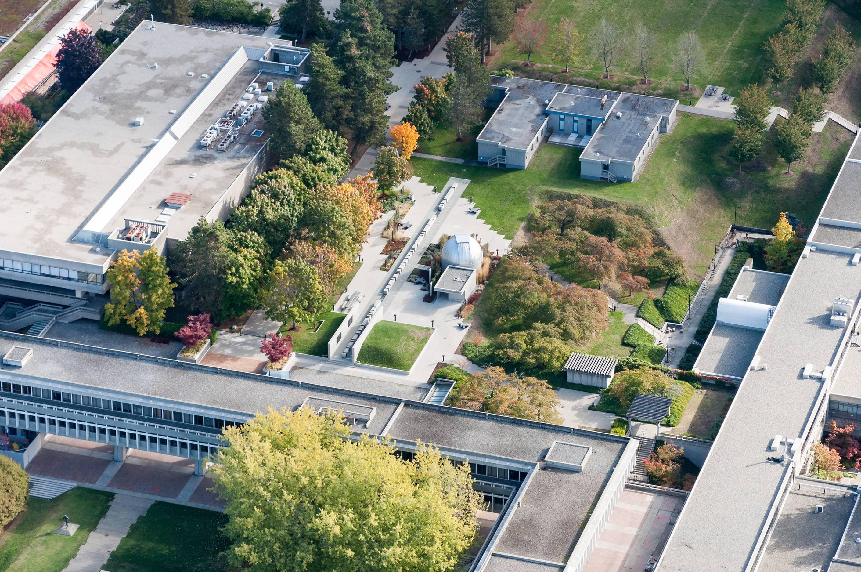 bbp sfu observatory park aerial 2