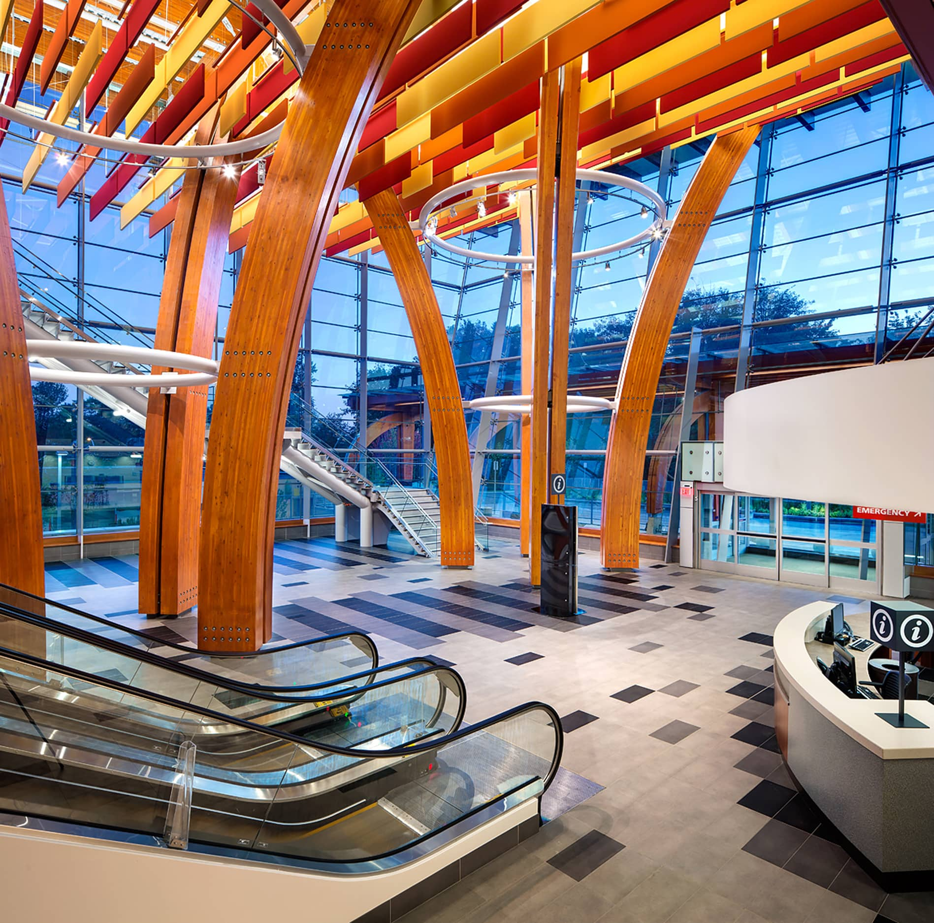 bbp surrey memorial hospital acute care atrium