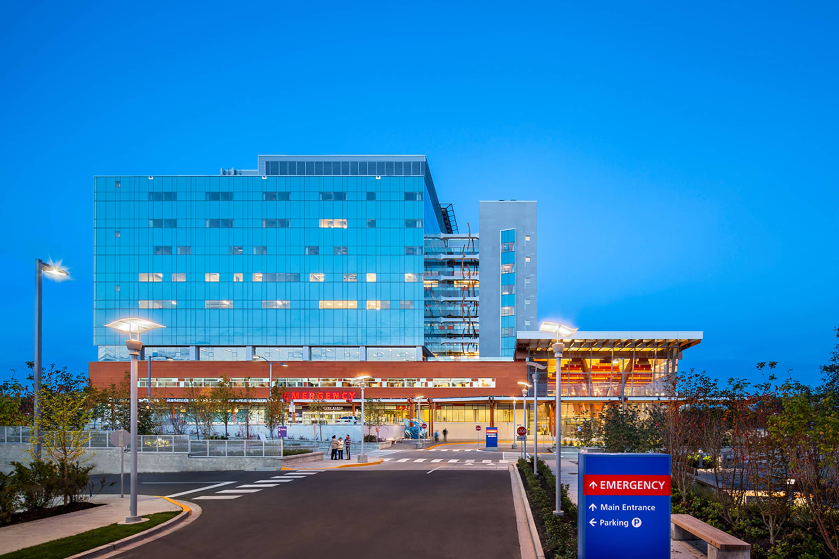 bbp surrey memorial hospital acute care exterior