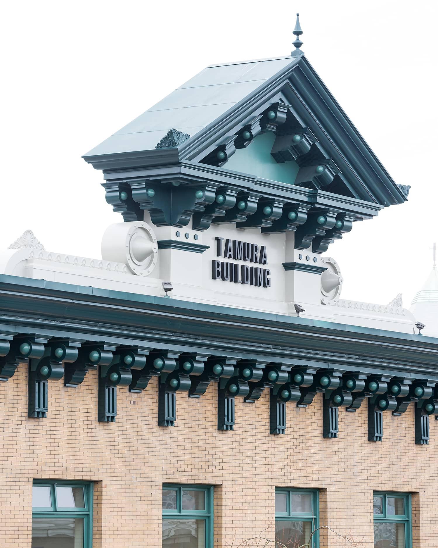 bbp tamura house restoration and seismic upgrade exterior roof