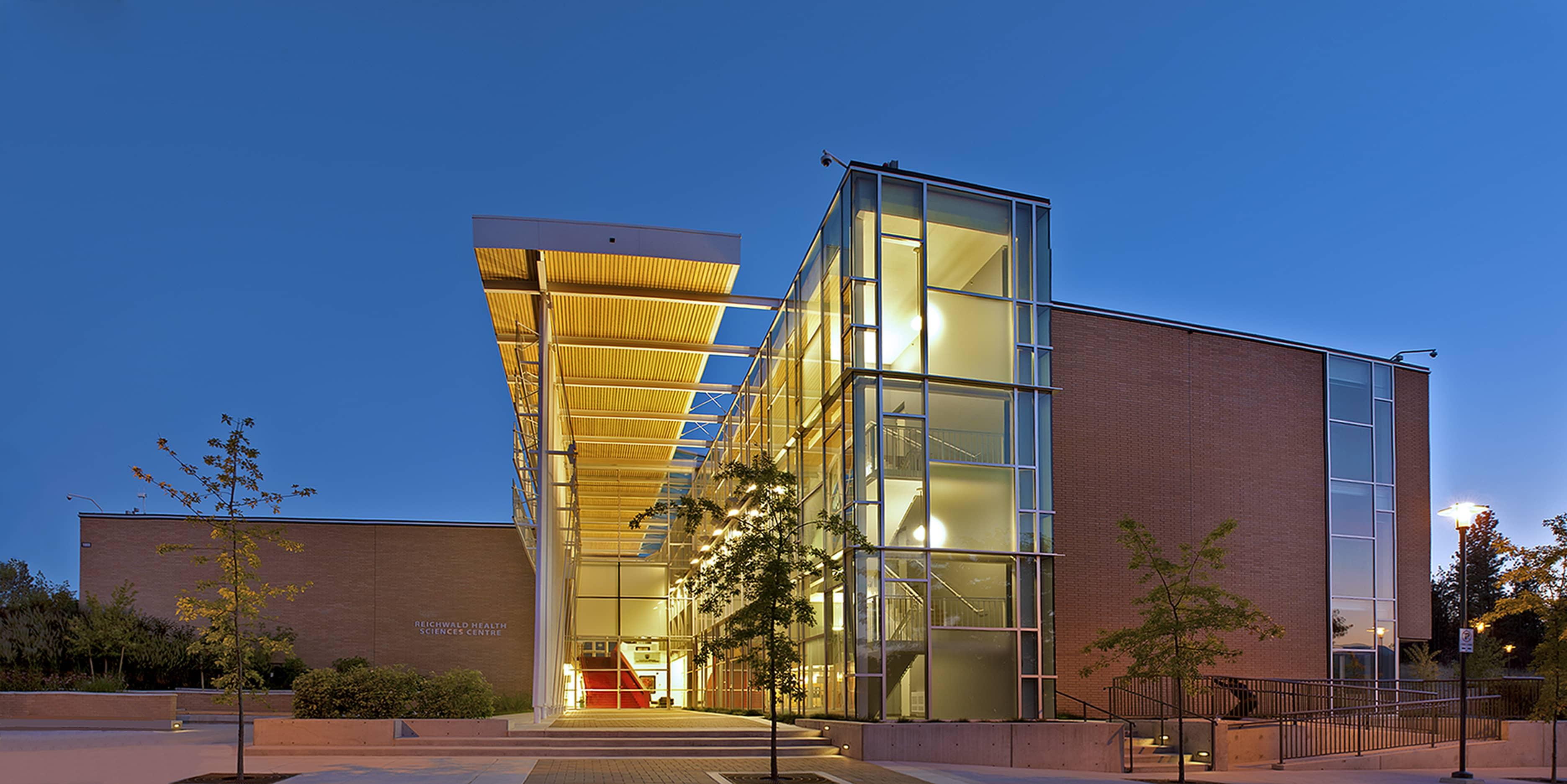 bbp ubco health sciences exterior entrance