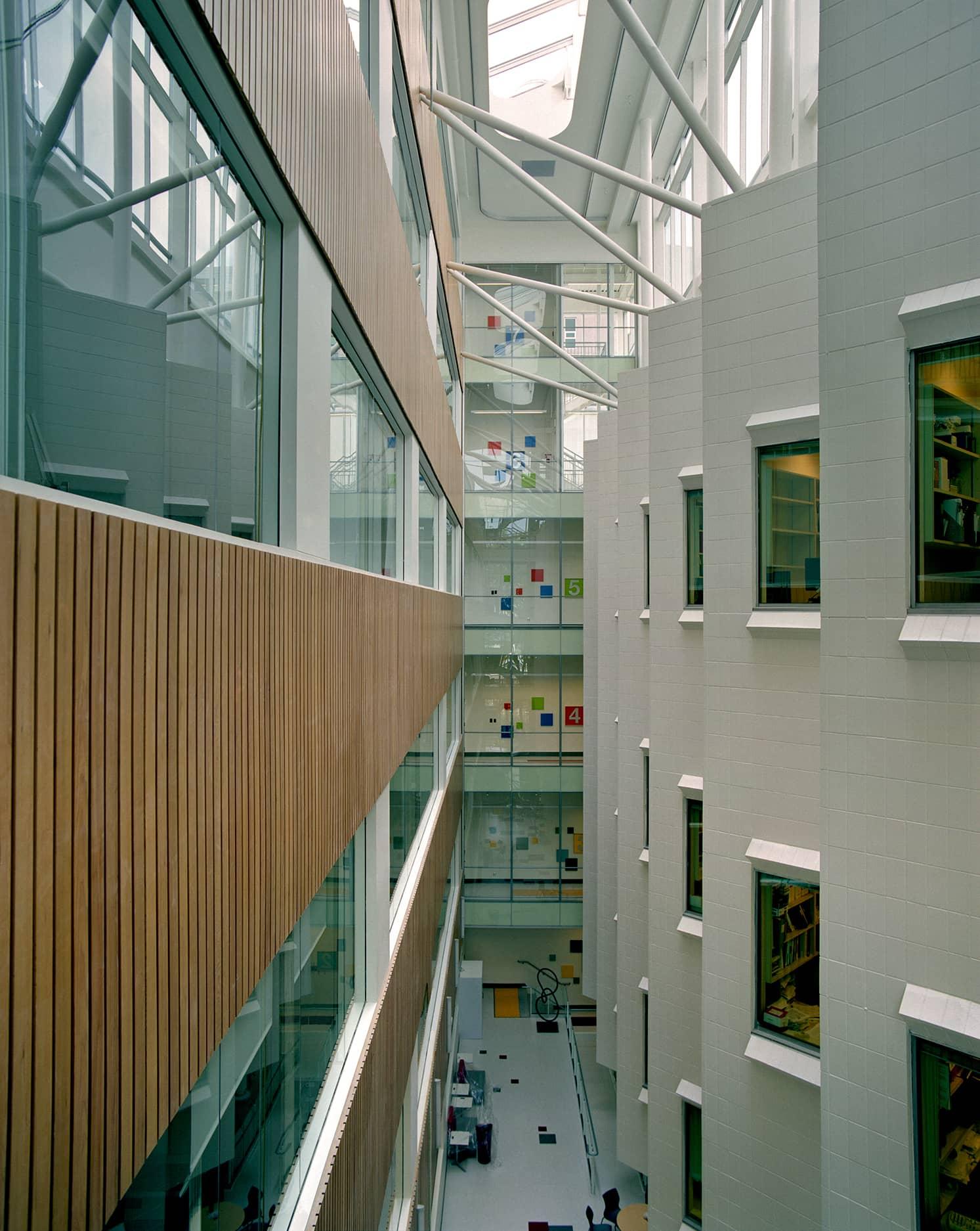 bbp vgh robert ho research centre atrium