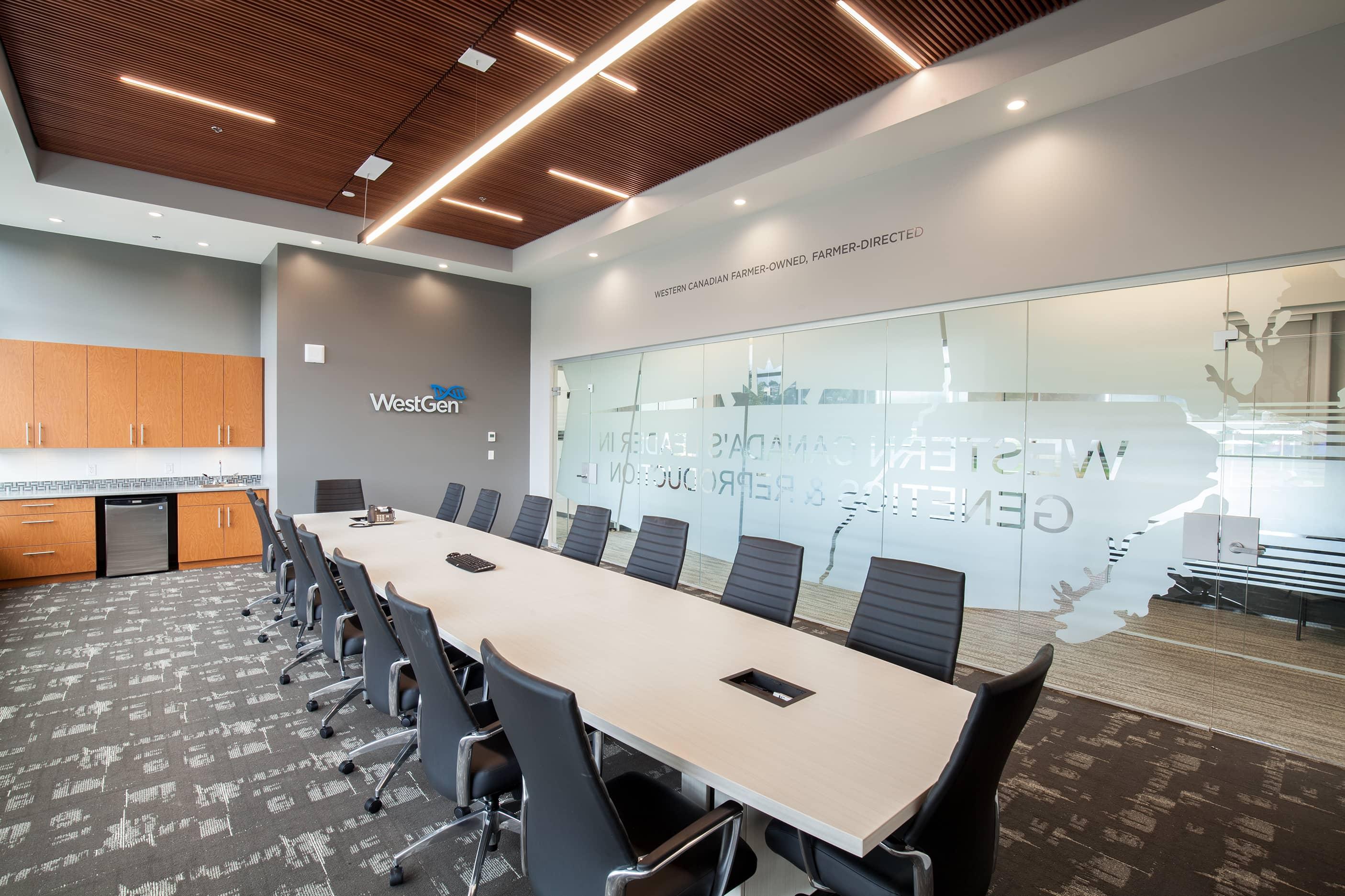 bbp westgen office and laboratory meeting room