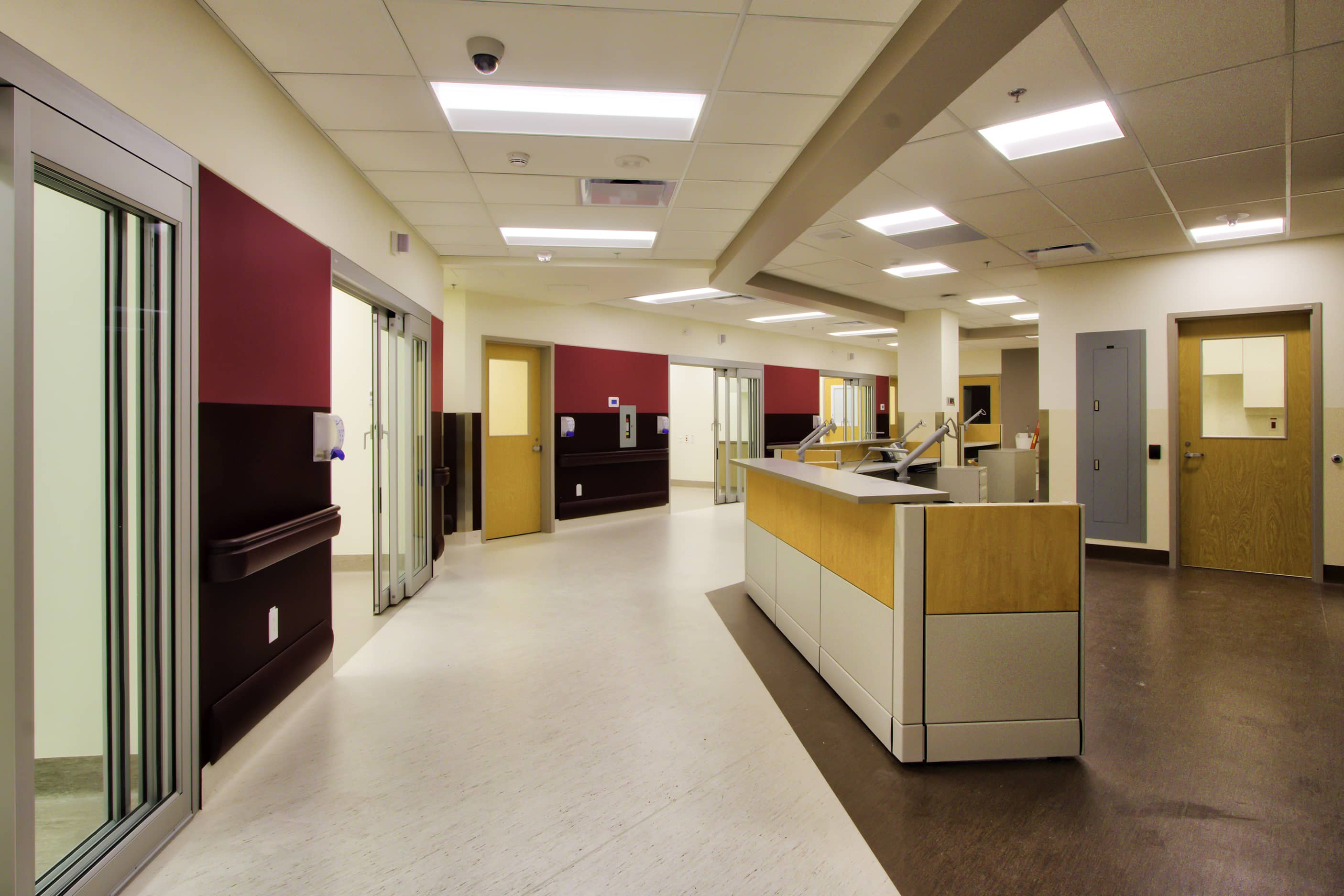 bbp whitehorse general hospital emergency department expansion interior