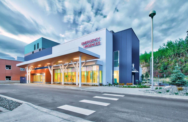bbp whitehorse general hospital emergency department expansion entrance