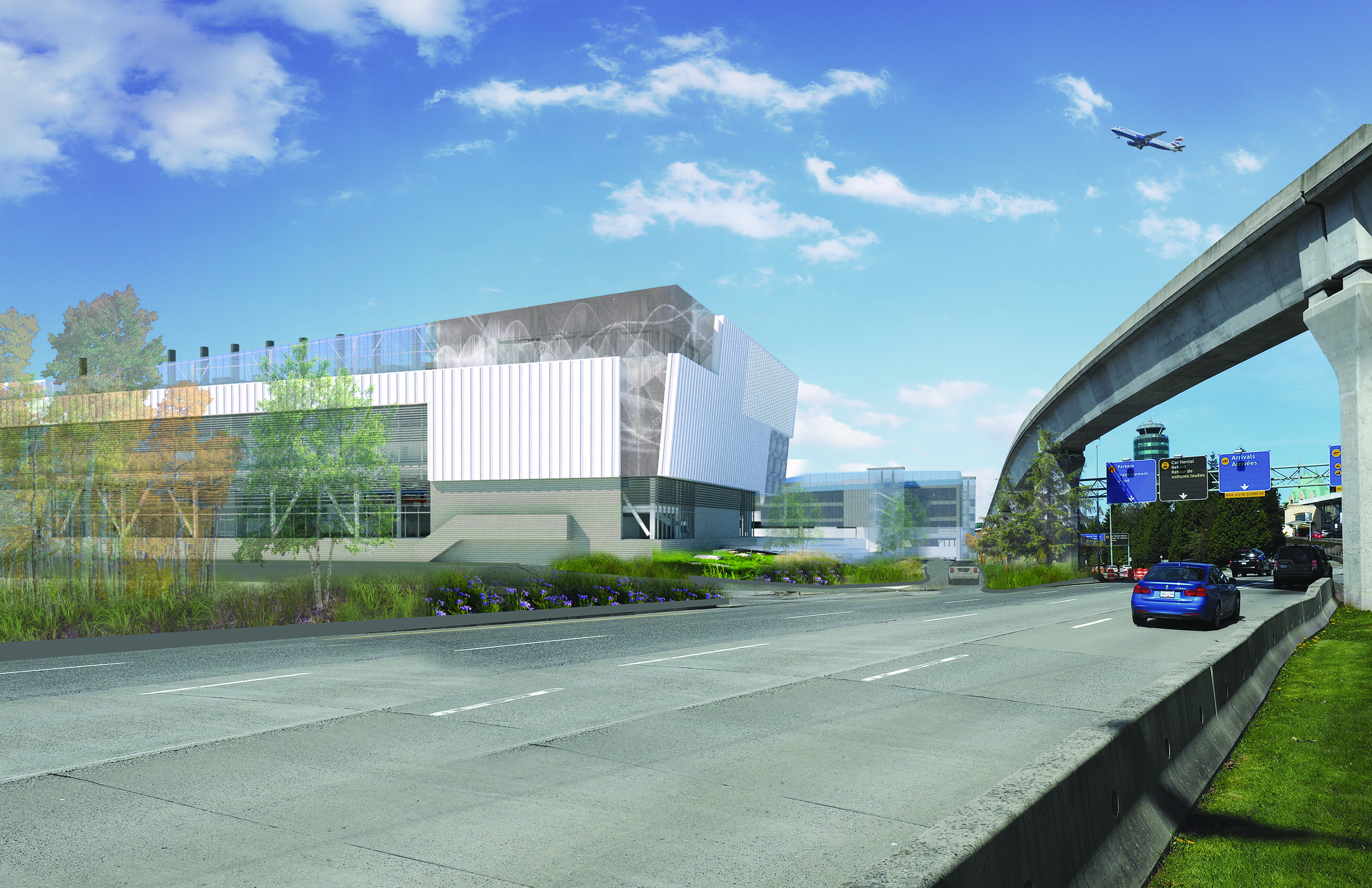 bbp yvr central utilities building rendering exterior 1