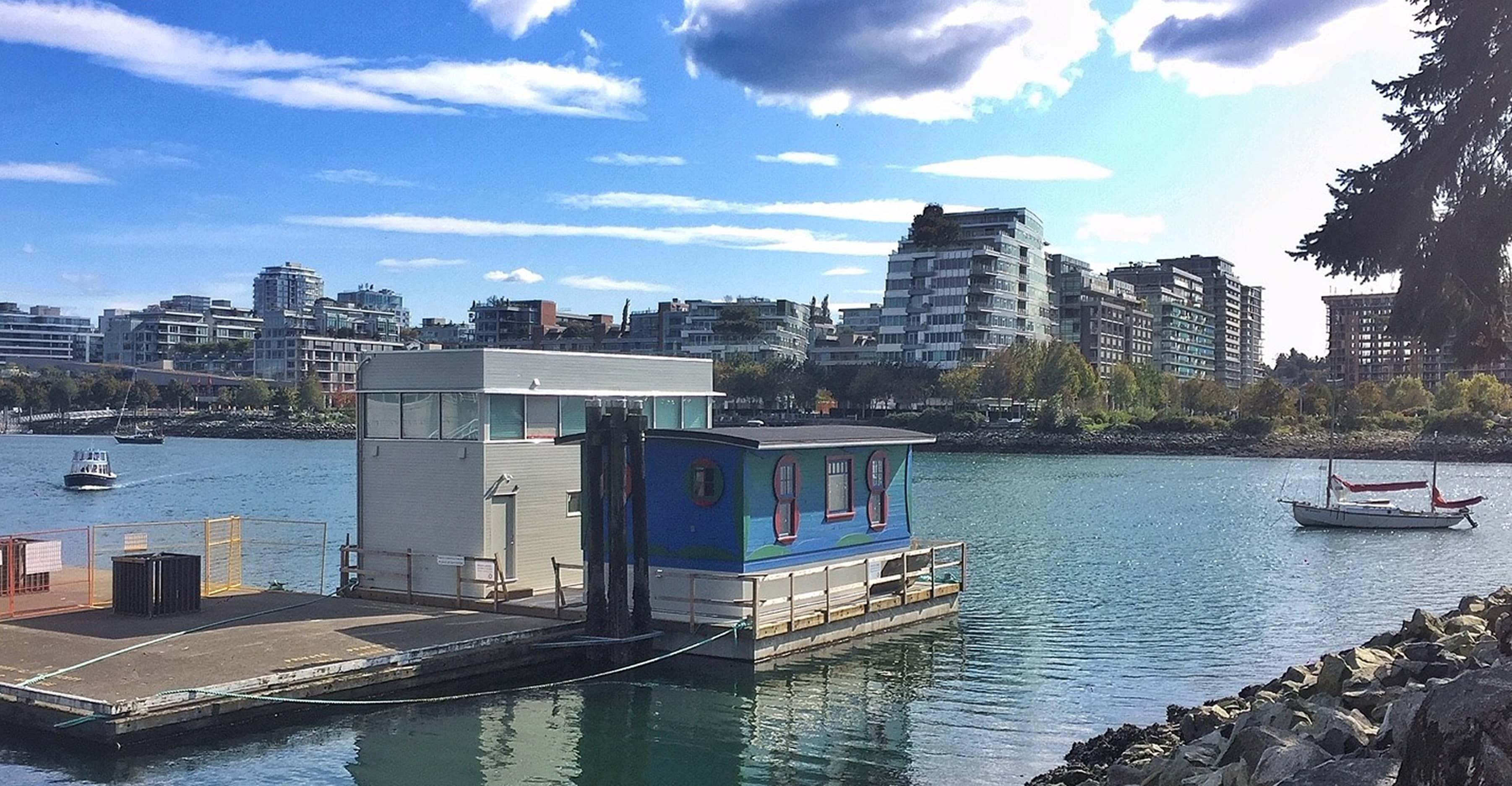 bbp blue cabin side exterior