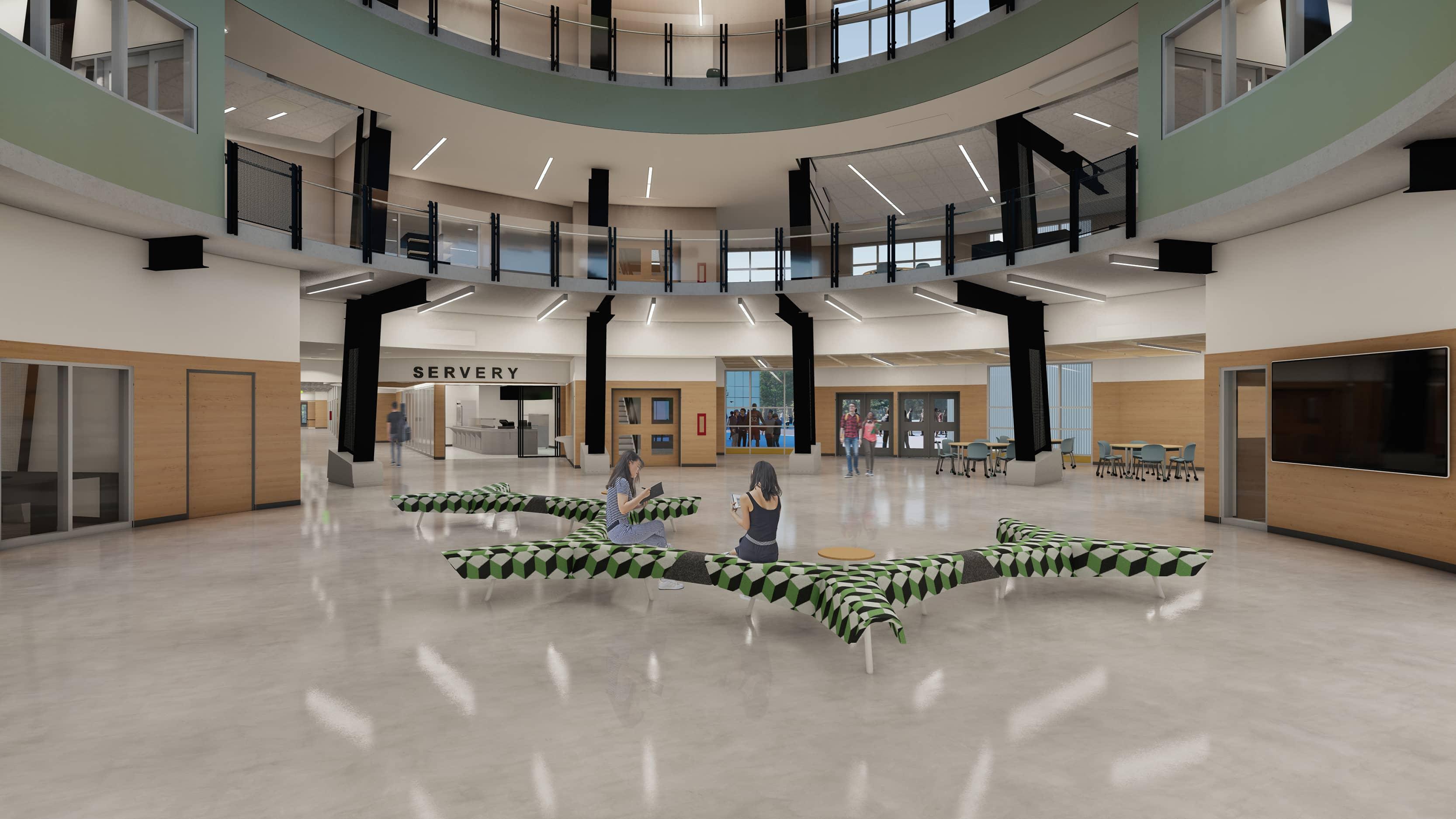 bbp grandview heights secondary main atrium