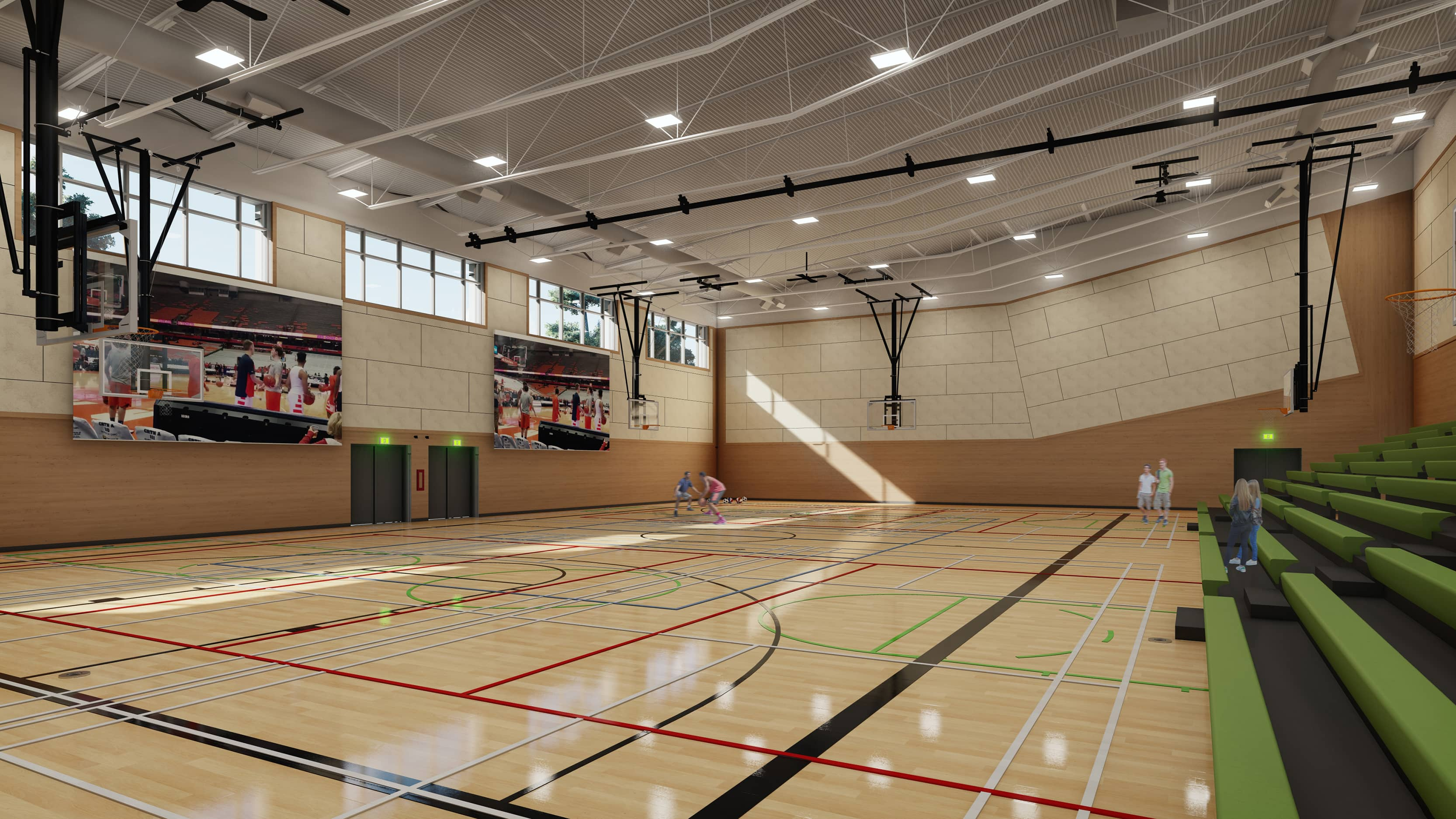 bbp grandview heights secondary gym